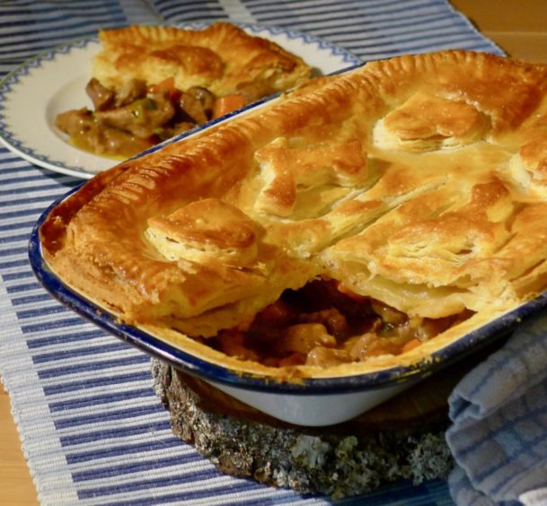 Three recipes for New Year's Day: Steak pie, shortbread ...