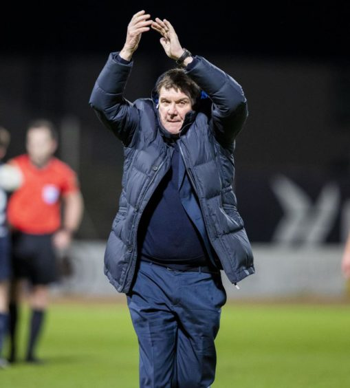 Tommy Wright left St Johnstone in 2020.