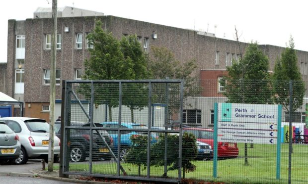 A Covid outbreak last November saw more than 120 staff and pupils at Perth Grammar have to self-isolate