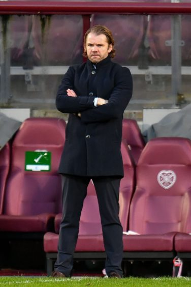 It was a frustrating afternoon for Hearts boss Robbie Neilson as his side lost to Raith Rovers.