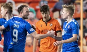 Guy Melamed and Chris Kane get instant rewards as St Johnstone partnership and Ali McCann hopes there is more to come