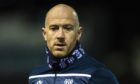 ARBROATH, SCOTLAND - JANUARY 22: Dundee Midfielder Charlie Adam warms up during a Scottish Championship match between Arbroath and Dundee  at Gayfield Park, on January 22, 2021, in Arbroath, Scotland. (Photo by Mark Scates / SNS Group)