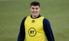 Cameron Redpath in Scotland training this week.