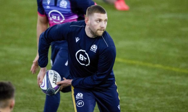 Finn Russell can't go back to France during the Six Nations.