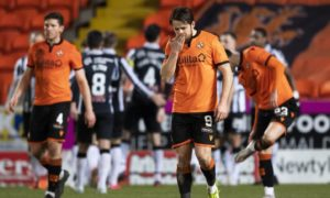 A poor first half cost Dundee United the game at Tannadice.