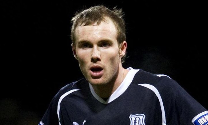 Jonny Stewart in action for Dundee in 2010.