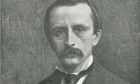 The author JM Barrie.