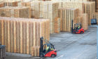 The firm produces more than 16.5 million pallets per year.