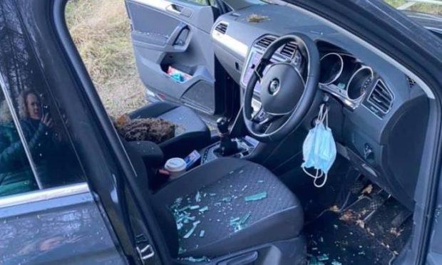 Car crime at Drimmie Woods