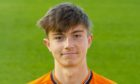 DUNDEE, SCOTLAND - SEPTEMBER 20: Scott Banks pictured at Dundee United 2019/2020 headshot session at Tannadice Stadium on September 20, 2019, in Dundee, Scotland (Photo by Ross MacDonald)