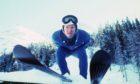 Eddie 'The Eagle' Edwards in 1986.