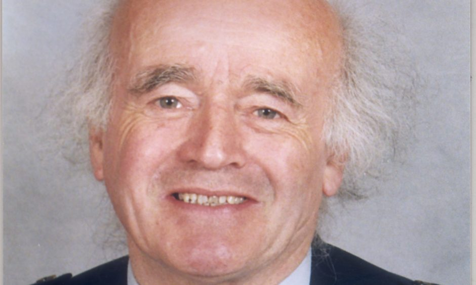Rev Peter Douglas pictured in the late 1990s
