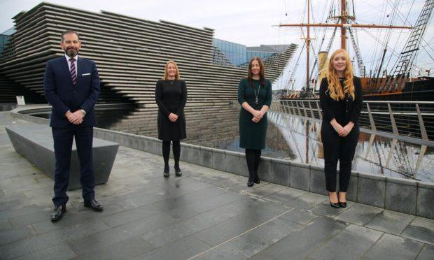 Gilson Gray Dundee staff members Lindsay Darroch, Nyona Nicol, Karin Bousie, Kasia Thomson.