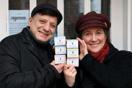 Haluk and Nicola Gokalp of the Black Cat Soap House.