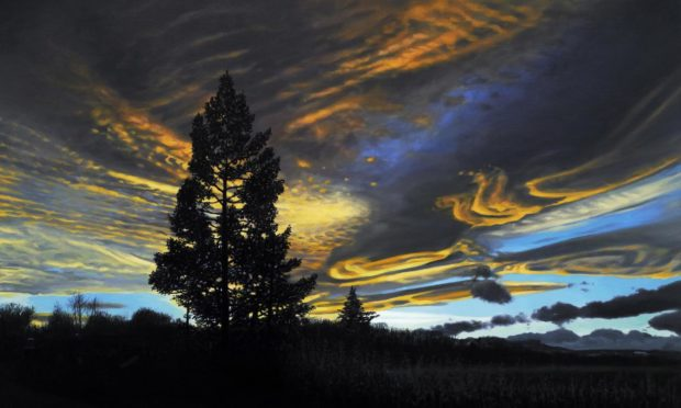 Heavenly Turbulence, a painting by Philip Braham.