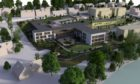An artist's impression of how the care home could look.