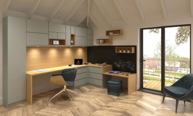 An example of new James Donaldson business Buzz Home Office.