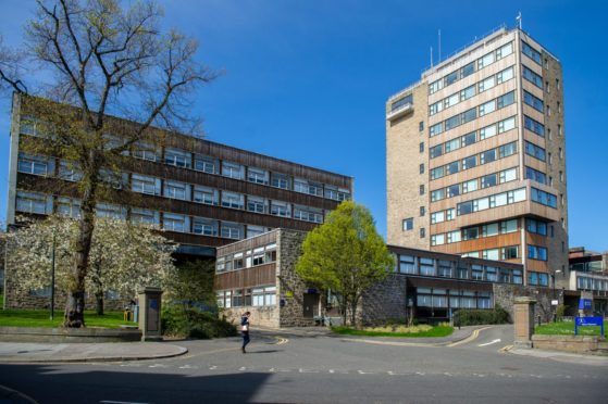 Dundee University Tower Building.