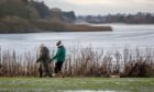 Forfar Loch is popular with walkers in all weathers.