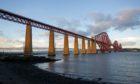 The Forth Bridge.