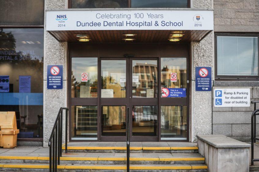Dundee Dental Hospital pods