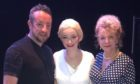 Kenny Christie and Lina Waghorn (right) have led productions including Evita.