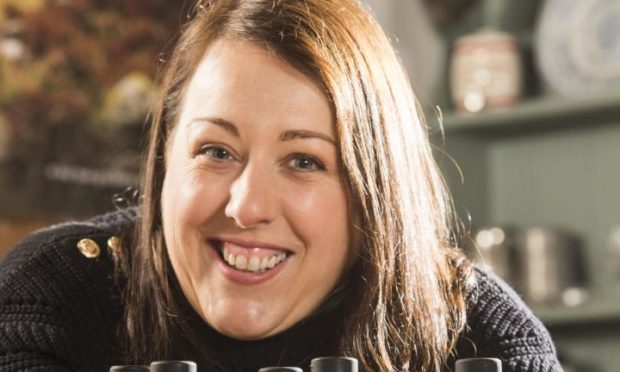 Kim Cameron, owner of Gin Bothy.