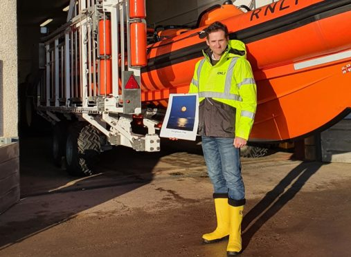 Donnie Maclean's photographic talents have helped raise some much needed cash for Kinghorn RNLI.