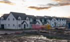 Kirkwood Homes development at Balgillo Heights, Broughty Ferry.