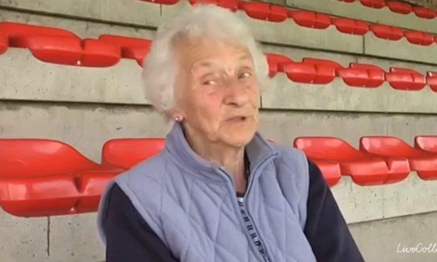 Margaret Noble at Glebe Park.
