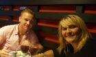 Corrie McKeague with mum Nicola Urquhart