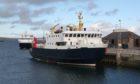 An Orkney ferry.