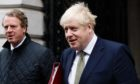 Boris Johnson and Alister Jack.