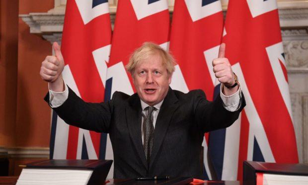 Boris Johnson Scotland