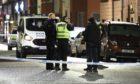 Police presence in Scott Street Perth where the victim was found