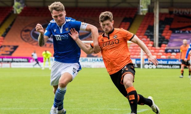 Cammy Smith (right) is set to leave Dundee United at the end of January.
