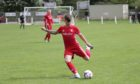 Ryan Blair, 25, while playing for Broughty Athletic