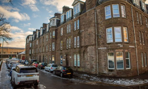 Vandals have repeatedly targeted South Inch Terrace.