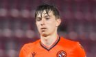 Scott Banks in action for Dundee United.