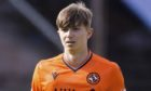 03/08/19 LADBROKES CHAMPIONSHIP DUNDEE UTD v INVERNESS CT (4-1) TANNADICE PARK - DUNDEE Scott Banks in action for Dundee United