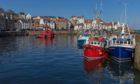 Pittenweem Harbour.