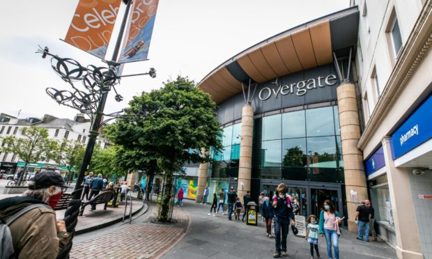 Overgate Shopping Centre in Dundee