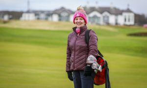 Susie Robertson at Elie and Earlsferry Ladies Golf Club
