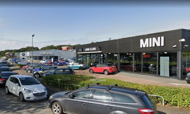 John Clark's BMW and Mini dealerships at Rutherford Road, Dundee.