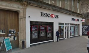 HSBC in Murraygate, Dundee.