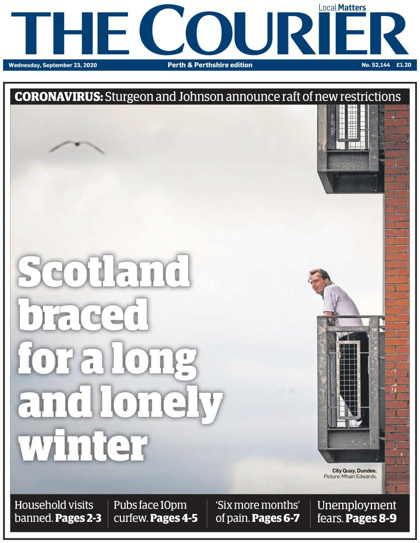 September 23: A Long and lonely winter awaits.