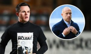 Lawrence Shankland: Dundee United star's wonder goal hailed by Charlie Adam while ex-Hibs ace claims striker is 'stuck in wrong team'