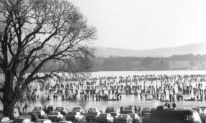 The last Grand Match at the Lake of Menteith.