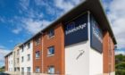 The Travelodge in Falkirk.