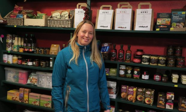 Anna Hancbach of Carnoustie Farm Shop.